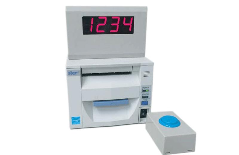 ボタン式順番発券機:スターターセット