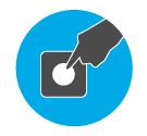 受付順番発券機 LineManager@NS ポイント - ボタンを押すだけの簡単発券