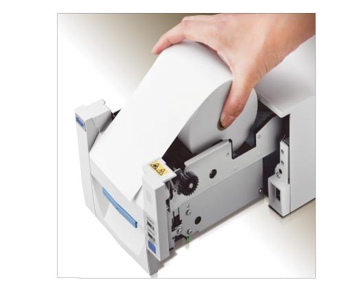受付順番発券機 LineManager@NS ハードウェア仕様 - 簡単用紙交換