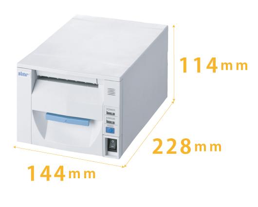 受付順番発券機 LineManager@NS ハードウェア仕様 - コンパクト設計