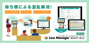 LineManager@ Call+ @NSAP トップ画面