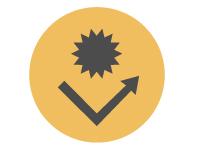 受付順番発券機 LineManager@NS3 ポイント - 安心 ボタン用抗菌シール付き